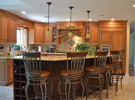 custom made kitchen island two tone kitchen manasquan new jersey by design line kitchens