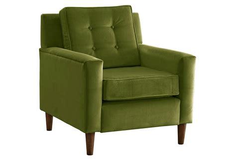 velvet accent chairs winston velvet accent chair apple green from one