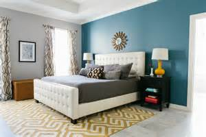 Gray Painted Bedrooms Ideas - master bedroom reveal with minted design improvised