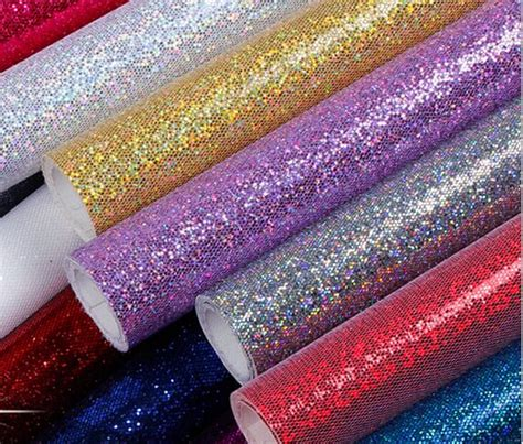 glitter wallpaper china online buy wholesale pink glitter wallpaper from china
