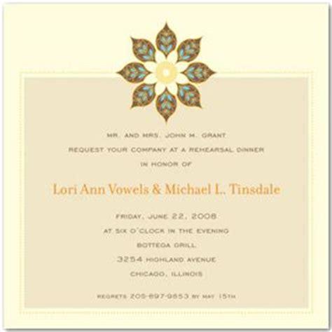 wedding rehearsal dinner invitation wording sles wedding rehearsal dinner invitation wording formal