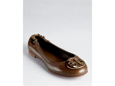 Trend Report Burch Reva Flats Are Going To Be This Second City Style Fashion by Burch Ballet Flats Reva In Brown Lan Grey Bronze Lyst
