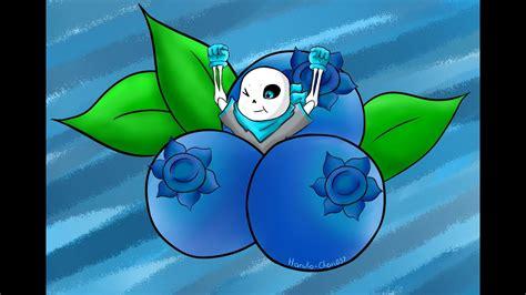speedpaint undertale blueberry sans speedpaint undertale blueberry sans