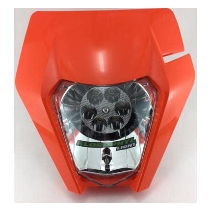 eclairage led moto enduro plaque phare origin leds klorophyl light moto beta enduro