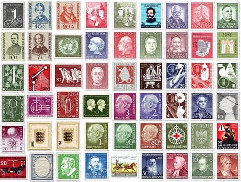 Online Marke Drucken by Briefmarken Bilder Deutschland Suchen Sammeln Und