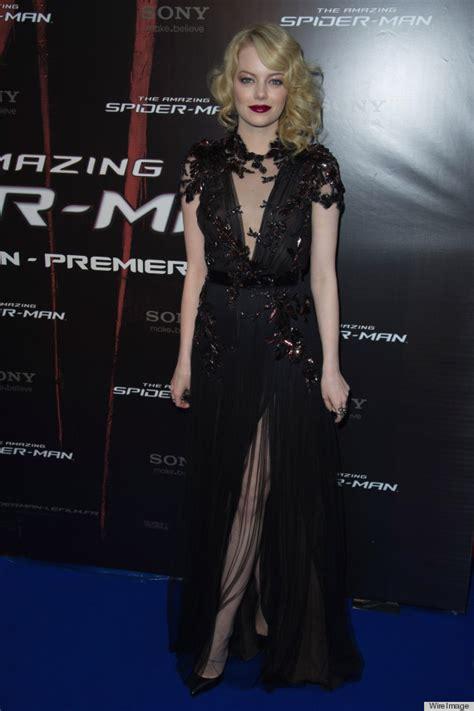 emma stone dress emma stone s dress at the spiderman premiere in paris