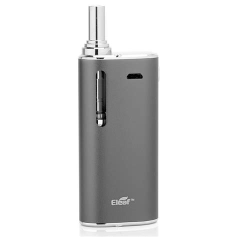 Eleaf Istick Basic 2300mah Vaporizer Pake Ngebul Authentic authentic eleaf istick basic kit grey battery gs air 2 starter kit