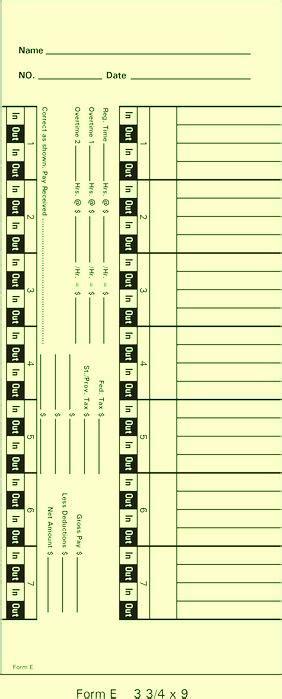 Express E Gift Card - form e time cards time clock express
