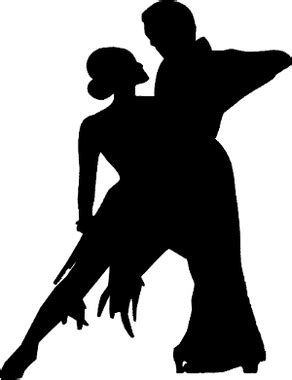 Couple Shadow Dancers Decal