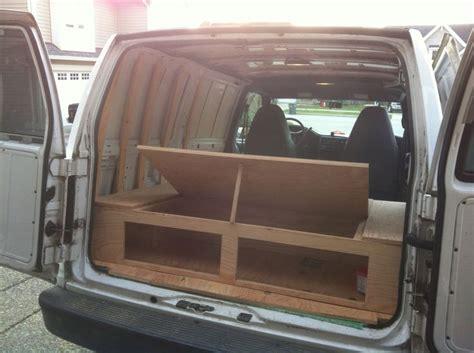 hippie van bed how the under bed storage opens hippie van pinterest bed storage the o jays