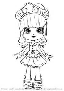 learn draw donatina shopkins shopkins step step drawing tutorials