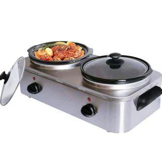 crock pot buffet servers crockpot 3 trio cooker buffet warmer crock pot