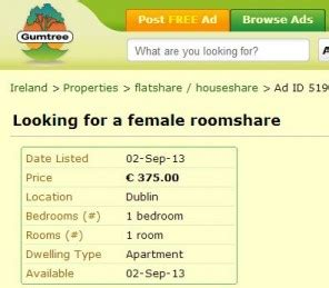 gumtree looking for room advertises for to a bed in dublin 183 the daily edge