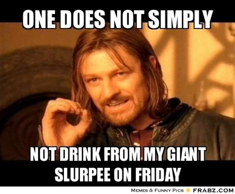 One Does Not Simply Meme Picture - one does not simply boromir meme generator captionator