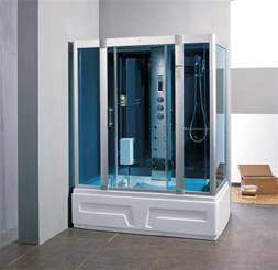 gartho 1600mm x 850mm whirlpool steam shower bath spa