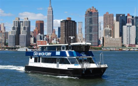 boat transport nyc five borough ferry service to begin in summer 2017