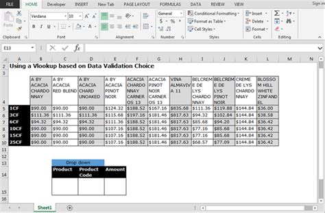 format excel drop down way to use vlookup function in data validation microsoft