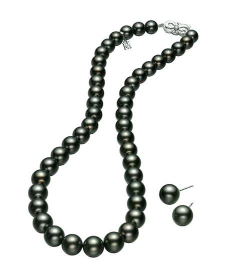 Kalung Hitam Black Necklace 01 perhiasan batu hitam mutiara harga mutiara lombok perhiasan toko emas terpercaya jual