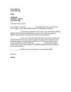sle application letter for administrative assistant