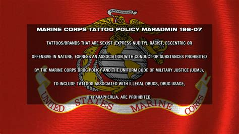 marine corps tattoo policy maradmin 198 07 maradmin 198 07 policy rachael edwards