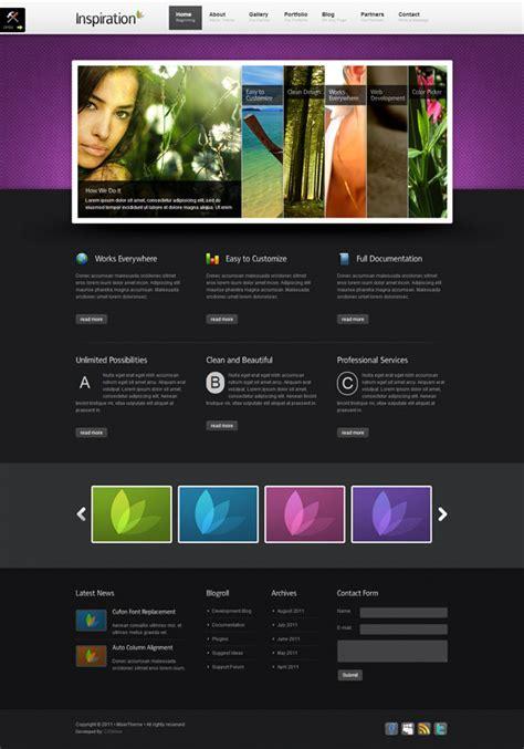 best business website templates 20 best business website templates of 2012