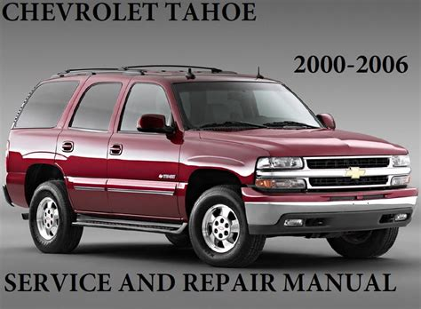 how to fix cars 2002 chevrolet tahoe electronic chevrolet tahoe 2000 2006 service repair manual pdf