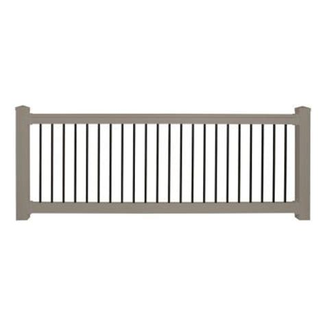Home Depot Banister Rails by Weatherables Railing Railings Bellaire 36 In X 96 In