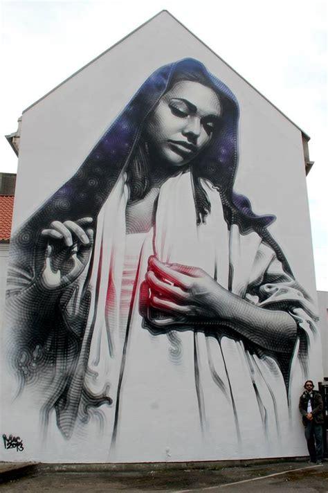 mural  solo exhibition el mac street art star