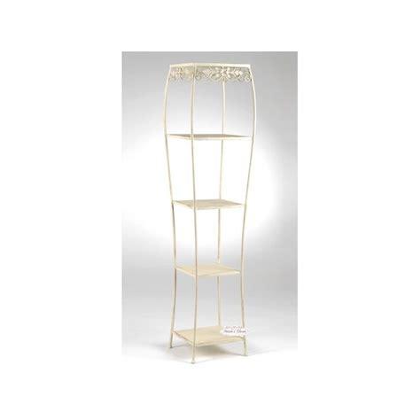 etagere ferro battuto scaffale auxelle shabby mobili in ferro