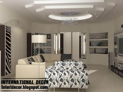 contemporary and sophisticated apartment interior design modern gypsum board ceiling design for modern living room