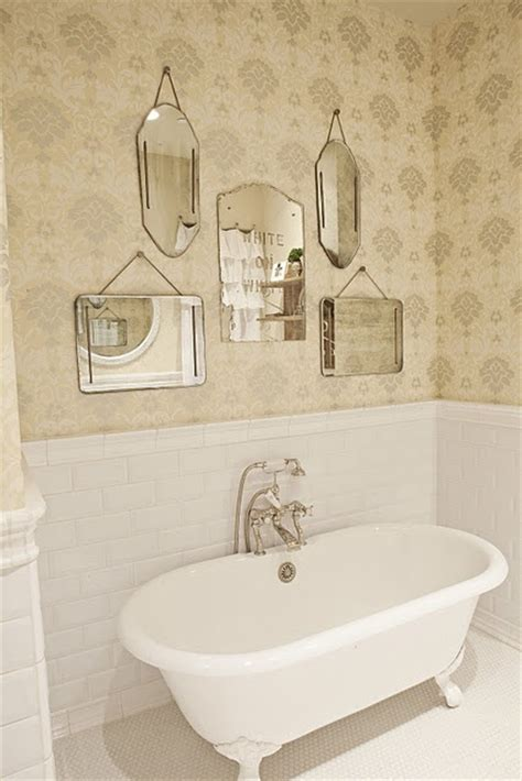 Pretty Bathroom Mirrors 17 Best Images About Wall Collages On Pinterest Wall Groupings Mirror Mirror And Clawfoot Tubs