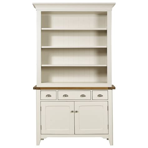 Oak Dresser Uk by Cottage Oak And Painted Dresser Display Unit Oak