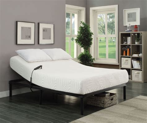 adjustable bed base reviews stanhope black king adjustable bed base from coaster