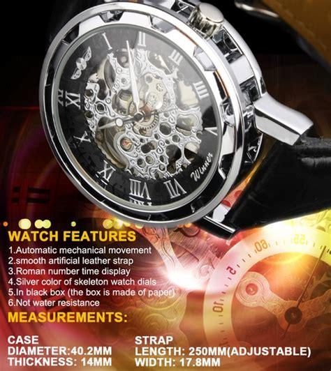 Barang Berkualitas Ess Jam Tangan Mechanical Wm473 Silver Gold ess jam tangan mechanical wm125 black silver jakartanotebook