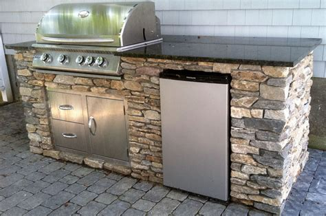 outdoor kitchen island kit oxbox universal cabinets fire