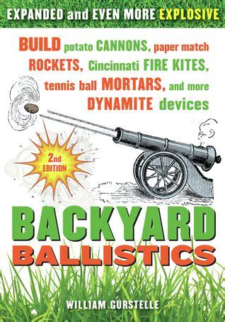 backyard ballistics build potato cannons paper match