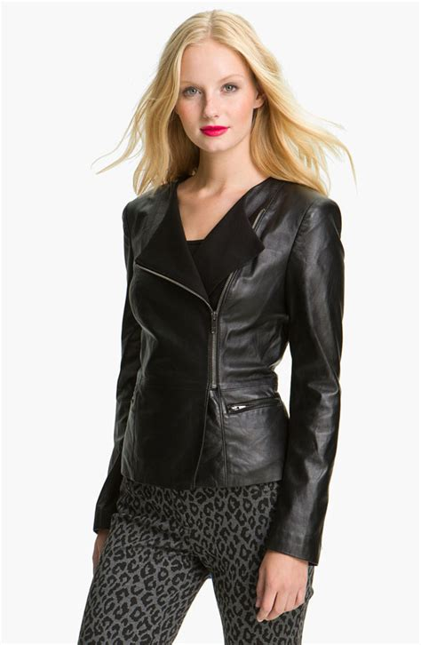Indulge In This Autumns Must The Leather Jacket At Miss Selfridge Dorothy Perkins by Fall Must A Leather Jacket Mollie