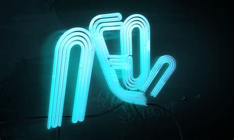 How To Make 3d Neon Light Typography | how to make 3d neon light typography
