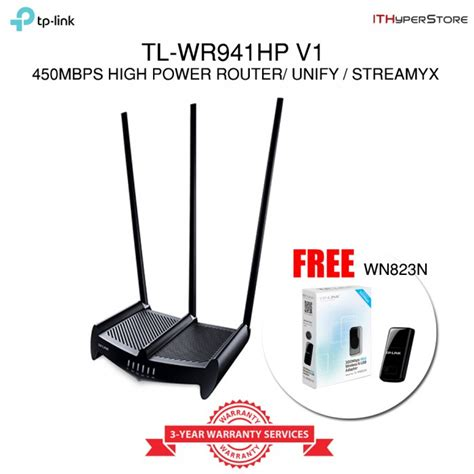 Tplink Tl Wr941hp 450mbps High Power Wireless N Router Diskon 2017 tp link tl wr941hp high power 450mbps wireless n wifi router