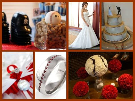 baseball wedding theme sports theme