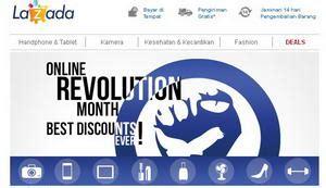 membuat toko online lazada belanja online dapatkan diskon besar besaran melalui