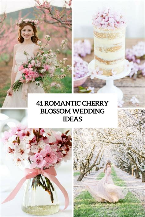 Cherry Blossom Home Decor by 41 Romantic Cherry Blossom Wedding Ideas Weddingomania