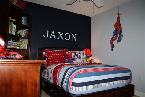 spiderman bedroom bolling with 5 jax s spiderman room is finally complete
