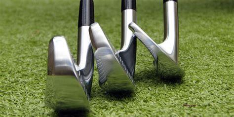 golf club specs iron offset  face progression