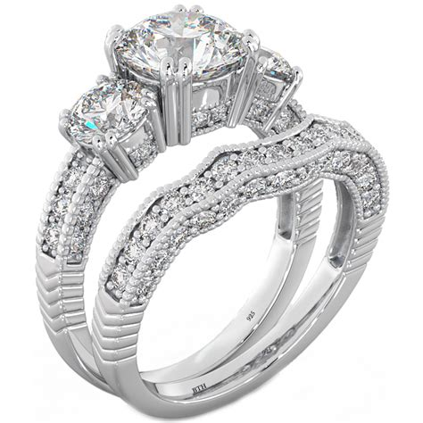 Wedding Rings Affordable by Best Of Affordable Engagement Ring Sets