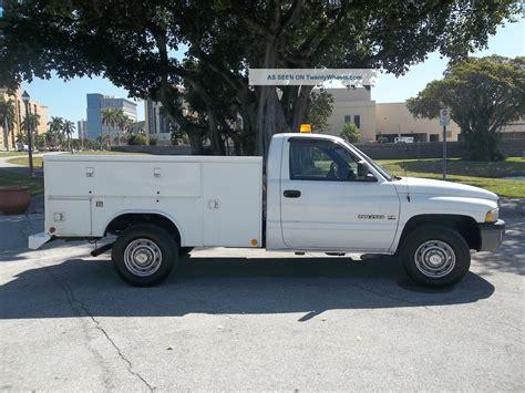 dodge utility 2001 dodge 2500 utility service truck gas 5 9 magnum florida