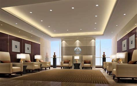 Modern Minimalist Reception Room Interior Design With | modern minimalist living room interior design with