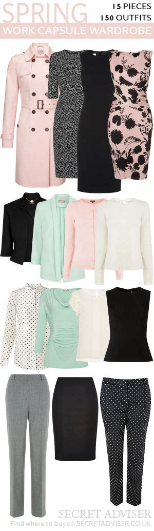 Spring Work Capsule Wardrobe | spring 2015 capsule wardrobe clothing spring and