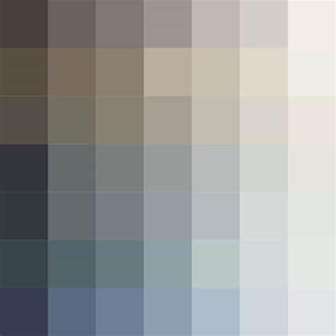 Palette De Couleur Gris by Nuancier Carte Des Couleurs Mauvilac Industries