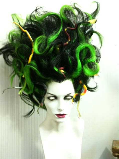 medusa hair costume character wigs outfitters wig halloween pinterest